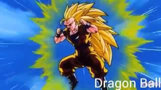 SSj3 goku vs super Buu (gotenks absorbed) (1080p HD)