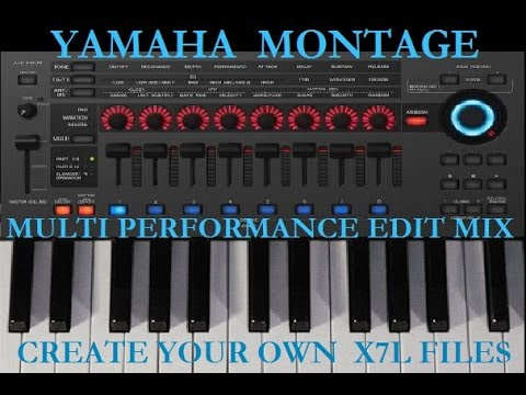 Yamaha Montage Sounds & Performance X7L Sound Library Recording Music Mix  Compilation Demo