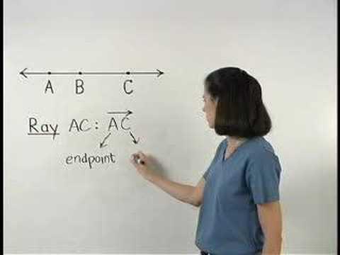 Rays - MathHelp - Geometry Help - YouTube