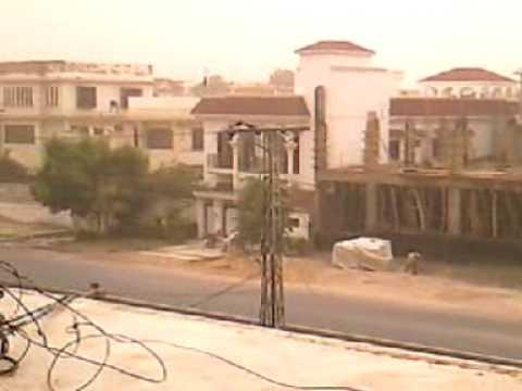 Aandhi in Hyderabad Sindh 13 jun 2009