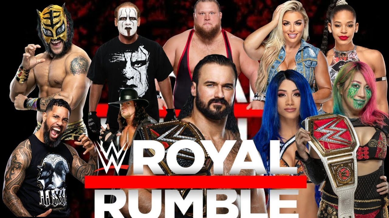 mi cartelera para Royal Rumble 2021 😎🔥 - YouTube