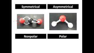Polar and Non Polar Covalent Molecules, Polar vs. Nonpolar - CLEAR & SIMPLE
