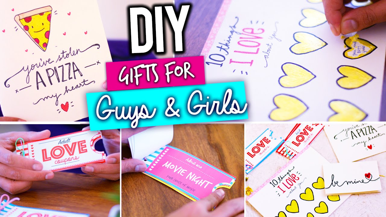 Diy Last Minute Valentine S Day Gift Ideas Youtube