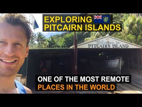 Exploring Pitcairn Islands | One of the Most Remote Places in the World