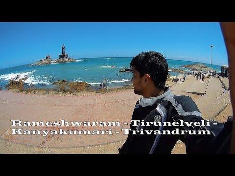 RAMESHWARAM - TIRUNELVELI - KANYAKUMARI - TRIVANDRUM | 200NS | SOLO SOUTH COAST TOUR | Day 2 & 3