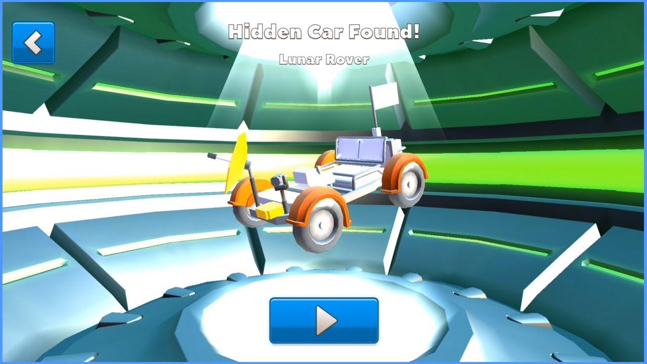 Crash Of Cars Hidden Car Moon