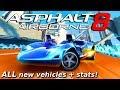 HOT WHEELS CARS!?! Asphalt 8: Hot Wheels Update - vehicle stats & other info