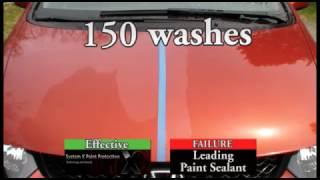 System X vs. Paint Sealant