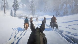 Playing Red Dead Redemption 2 in FIRST PERSON! (RDR2 Gameplay)