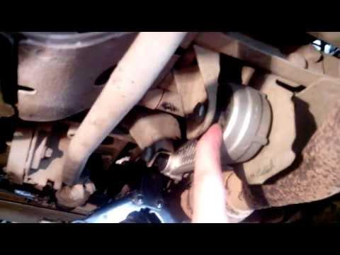Замена Опоры Двигателя причины Вибрации Кузова Руля КПП Renault Clio Symbol Kangoo