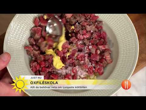 Oxfiléskola - allt du behöver veta om lyxigaste köttbiten - Nyhetsmorgon (TV4)