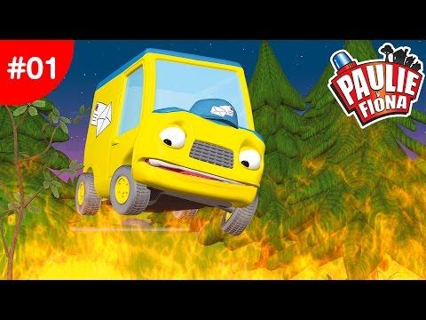 Paulie y Fiona | Problemas de campamento | Caricaturas para Niños | Caricaturas en Español