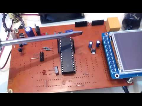3 2''TFT LCD + TOUCH SCREEN BASED HOME AUTOMATION USING 8051 MICRO CONTROLLER
