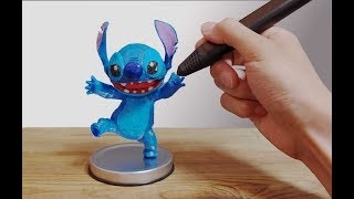 3D Pen | Making a Stitch | 3D펜 스티치 제작
