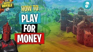 How to PLAY FOR MONEY! Join (FREE Fortnite Tournaments) Fortnite Battle Royale!