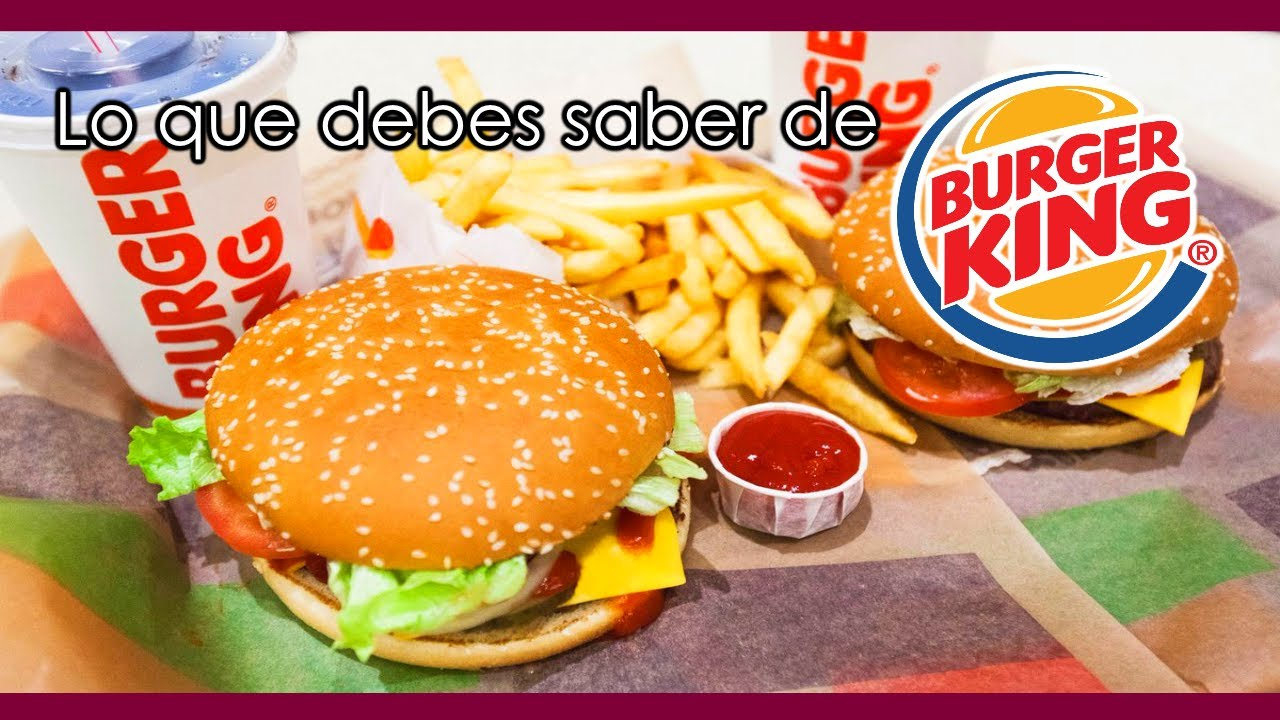 9 Curiosidades que no sabías de Burger King