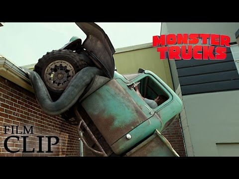 MONSTER TRUCKS   Driving On The Roof   Official Film Clip