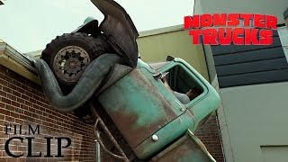 vuclip MONSTER TRUCKS | Driving on the Roof | Official Film Clip