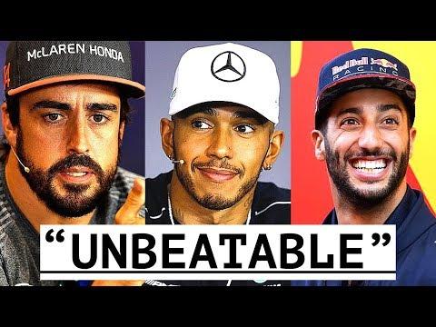 "Ricciardo ""Most Reliable in F1"" - Hamilton ""Unbeatable"" - Alonso ""Best in the World"""