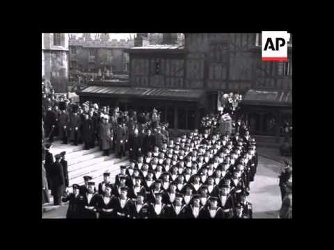 FUNERAL OF KING GEORGE VI - SOUND