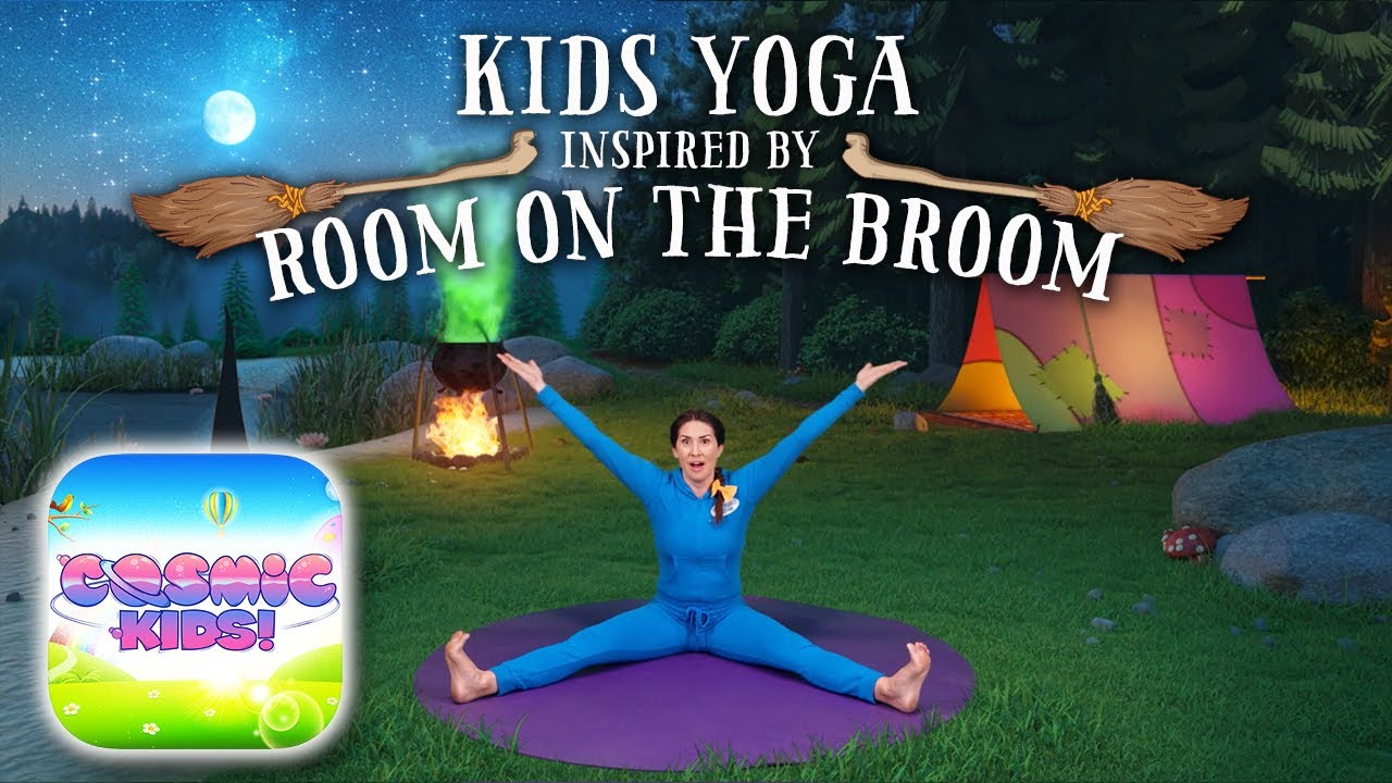 Room On The Broom A Cosmic Kids Yoga Adventure App Preview Youtube