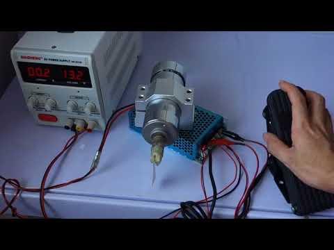 Drehzahlregler DC 12 V 24 V 48 V 100A 3000W 5000W Fußplatte ...