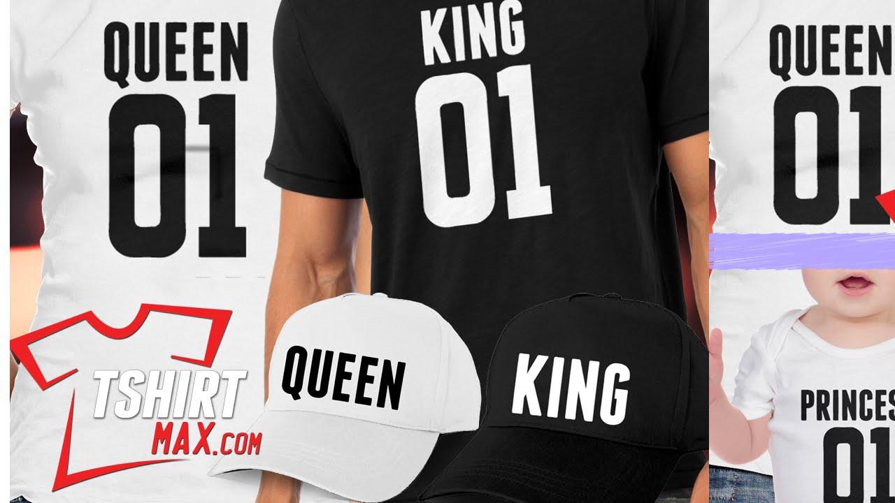sitio web profesional Venta de descuento 2019 promoción especial King, Queen, Princess, Prince T-shirt - Camisetas - Tshirtmax