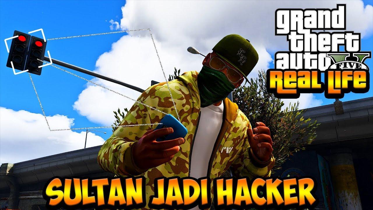 SULTAN JADI HACKER KAYA WATCH DOGS !! || GTA 5 MOD DUNIA NYATA (GTA 5 REAL LIFE)