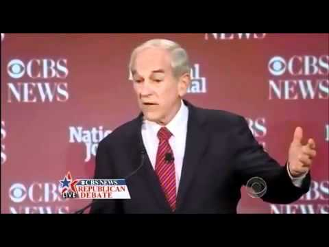 Ron Paul Questions and Answers - Republican Debate CBS News, National Journal Nov. 12 2011.flv