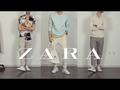 Zara Spring 2020 Haul And Lookbook   Men's Outfit Inspiration
