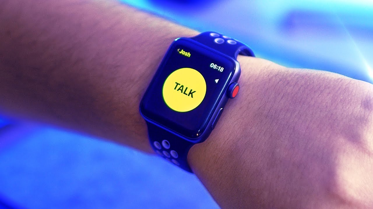 Apple Watch Walkie-Talkie app Hands-on! | watchOS 5 Beta 2