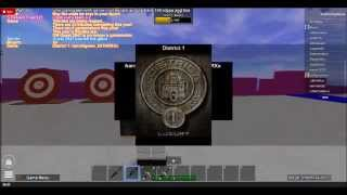 Let's play roblox hunger games