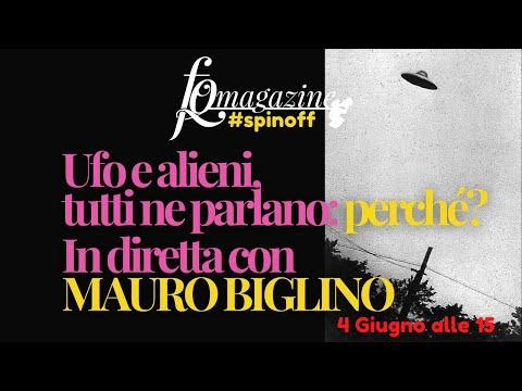 Ufo e alieni, tutto il mondo ne parla: perché?  In diretta con Mauro Biglino
