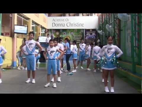 ADC BLUE DOLPHINS CHEERING SQUAD IN ACTION