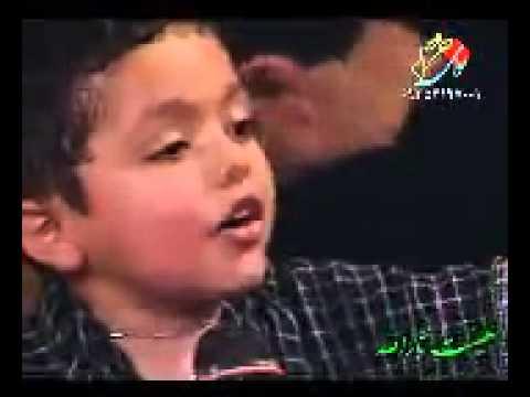 طفل ايراني لطميه