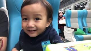 Kenzo Naik Kereta Api Argo Parahyangan Dari Bandung Ke Jakarta | Mainan Anak Dari Kakek Nenek