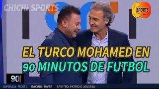 90 MINUTOS DE FUTBOL  15 DE AGOSTO 2019   VIGNOLO, RUGGER, EL TURCO MOHAMED EN 90 MINUTOS DE FÚTBOL