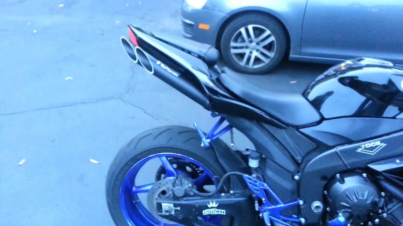 Yamaha R Toce Exhaust