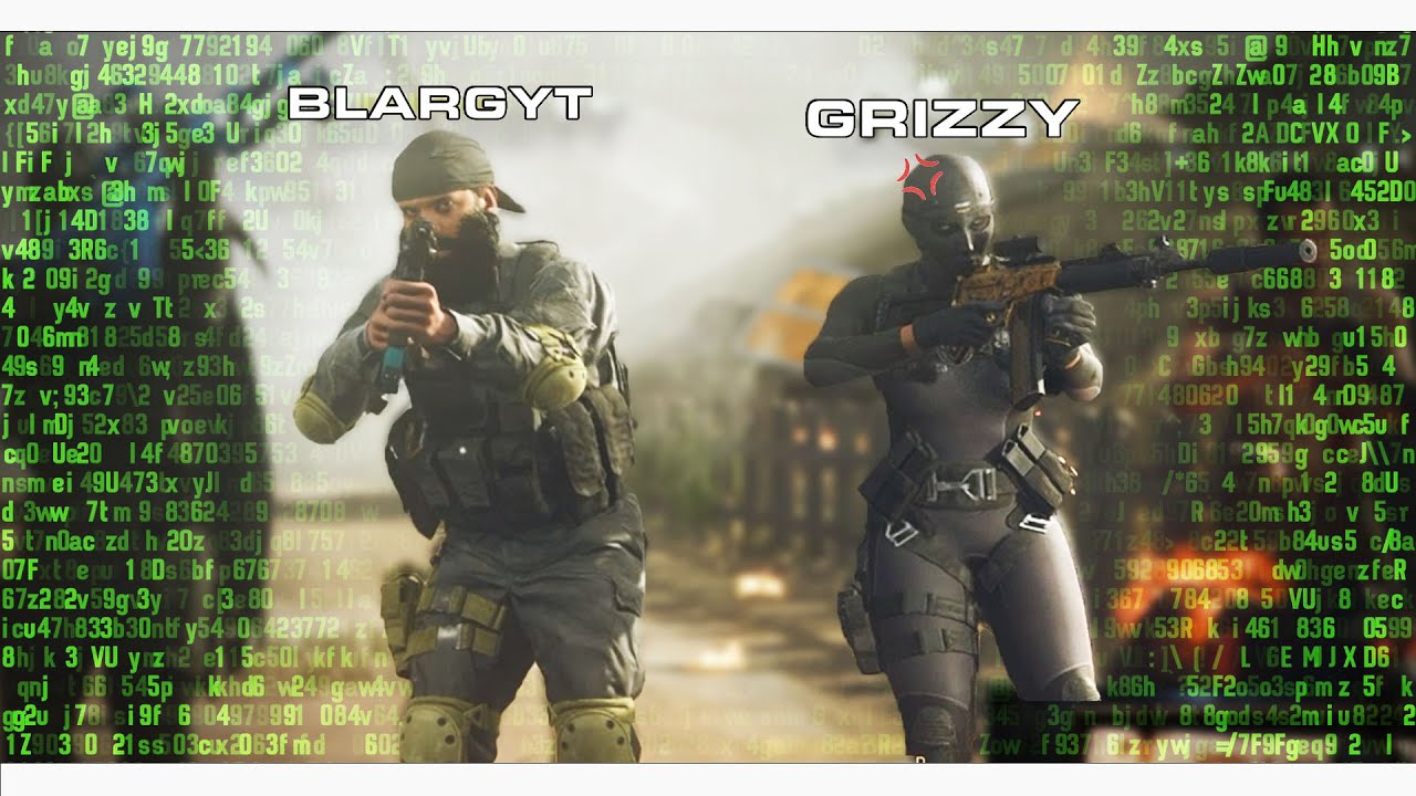 COD Warzone but GRIZZY just YELLS AT HACKERS