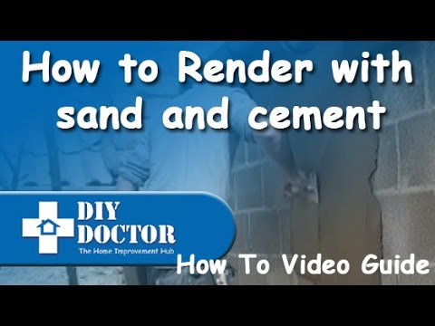 Rendering house diy