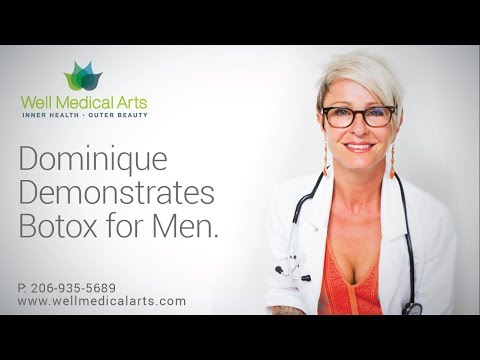 Seattle Botox For Men treatments at Well Medical Arts