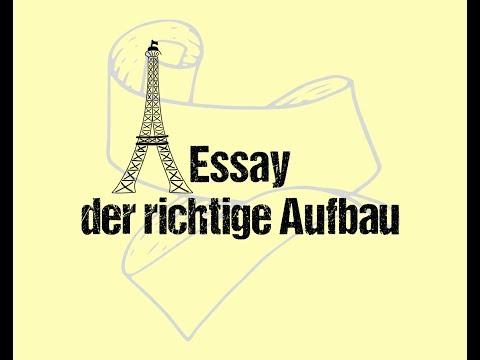 Aufbau Eines Essays / Wie Baut Man Einen Essay Auf
