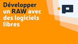 Développer un RAW avec des logiciels libres : Présentation Agora du Net au Salon de la Photo 2011