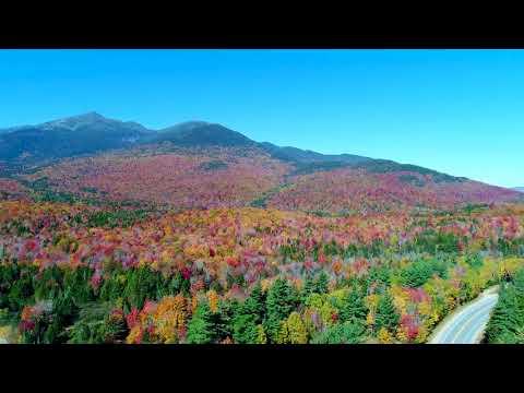 Fall Foliage in Pinkham Notch / White Mountains of NH 2017