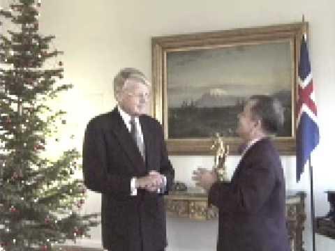 Jim Rogers interviews President of Iceland Ólafur Ragnar Grí