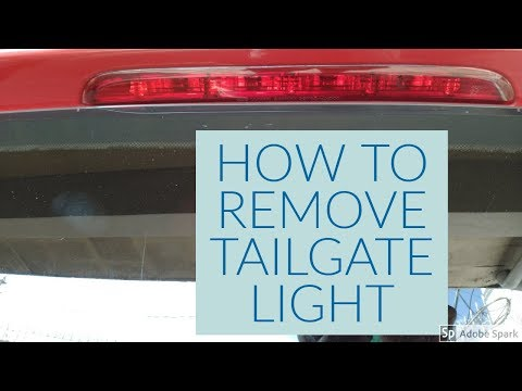 HOW TO REMOVE TAILGATE LIGHT FOR HYUNDAI EON (ENGLISH)