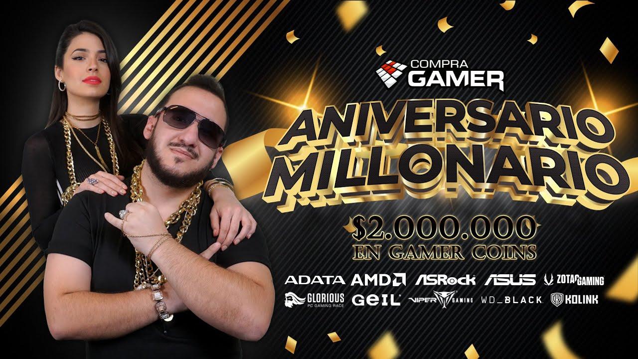 Download Ganá $ 2.000.000 en GAMER COINS// ANIVERSARIO MILLONARIO// #CompraGamerTV