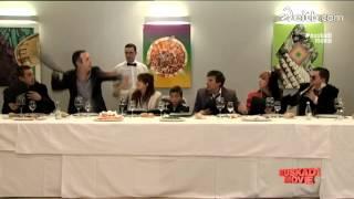 Los tíos de Hernani y Valladolid la lían parda en la comunión del niño