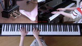 使用楽譜:ぷりんと楽譜・中級、 採譜者:内田美雪、 2019年2月17日 録画.