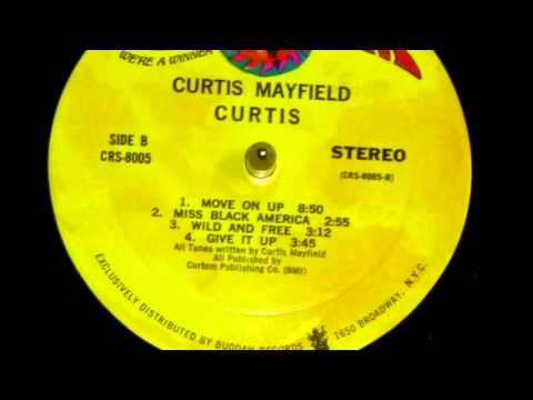 Curtis Mayfield - Move on up (vinyl)